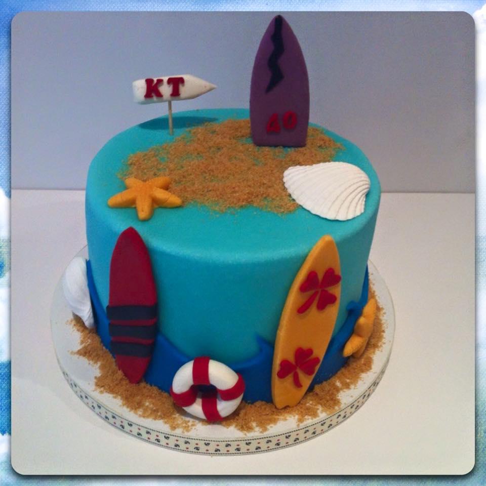 Tropical Cake Decorations