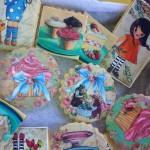 galletas con papel fondant
