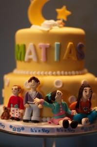 tarta personalizada bautizo