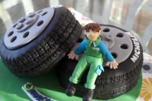 tarta ruedas