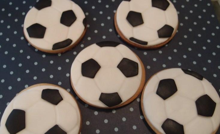 Galletas Balón Futbol Tartas De Fondant Personalizadas En
