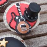 cupcakes de guns and roses