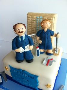 tarta de jubilación