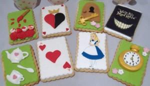 galletas de alicia en el país de las maravillas