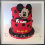 tartas mickey mouse