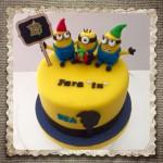 tartas y cupcakes de los minios