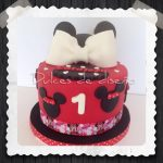 TARTAS DE MINNIE MOUSE