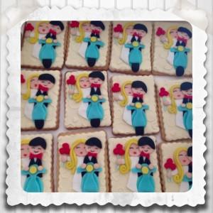 galletas de boda con vespa