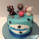 tarta de gatitos