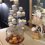 mesa de dulces para un bautizo