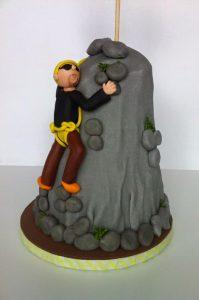 tarta escalador