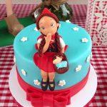 tarta caperucita roja