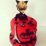 TARTA DE LADY BUG